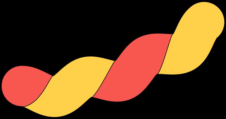 Ilustración de clipart de tinsel en PNG, SVG