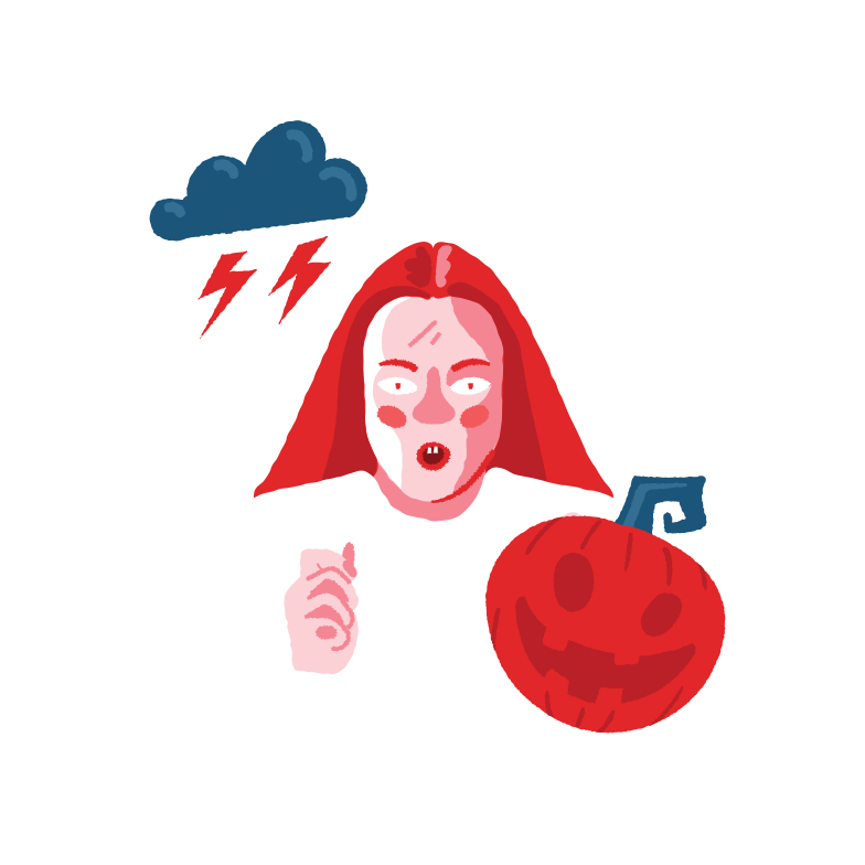 Halloween mood Clipart illustration in PNG, SVG