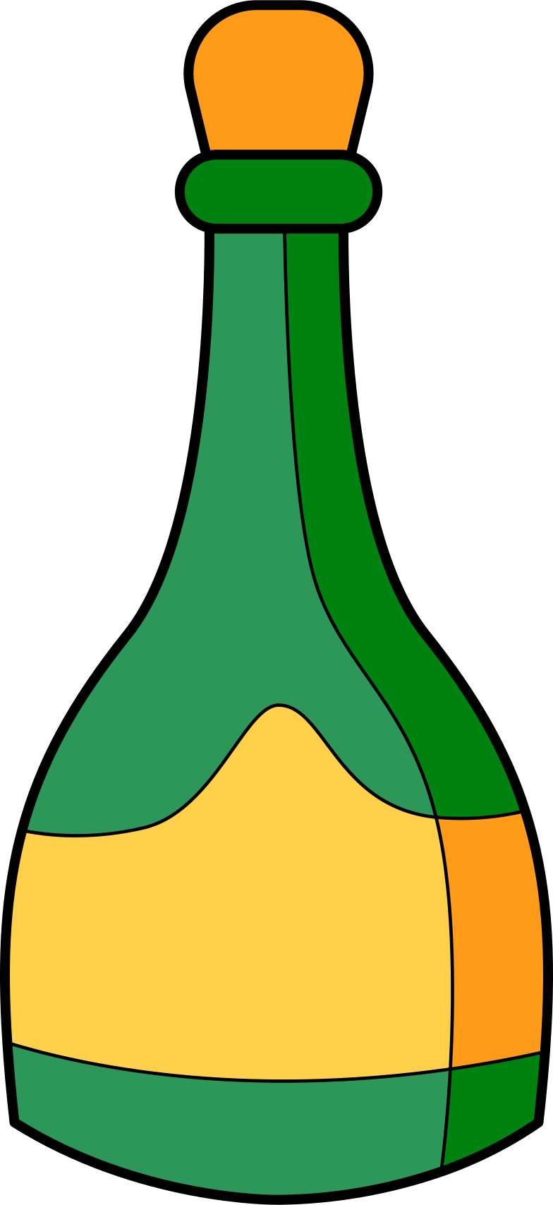 champagne Clipart illustration in PNG, SVG