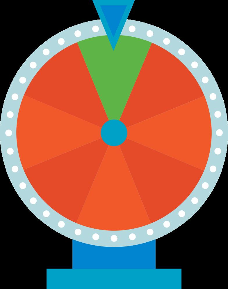 wheel of fortune Clipart-Grafik als PNG, SVG
