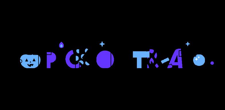 Ilustración de clipart de Truco o trato calabaza en PNG, SVG