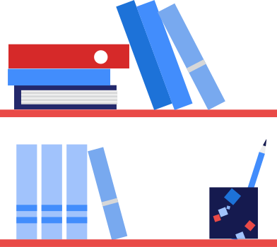 style bookshelf images in PNG and SVG | Icons8 Illustrations