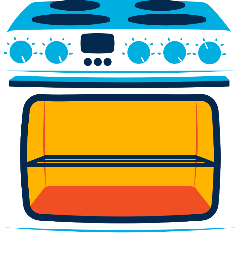 stove Clipart illustration in PNG, SVG