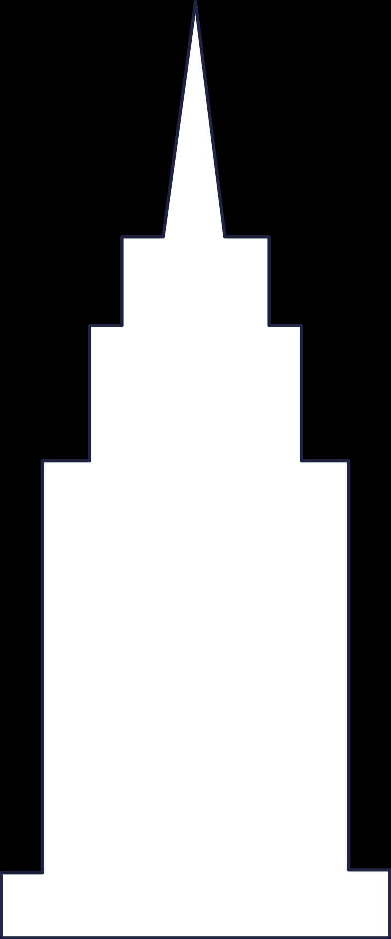 building 4 line Clipart illustration in PNG, SVG
