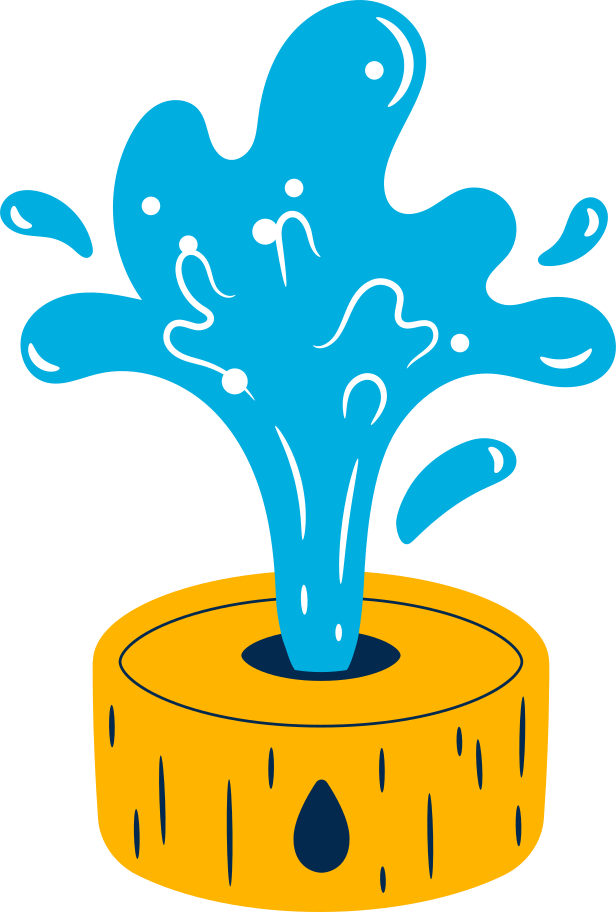 fountain Clipart illustration in PNG, SVG