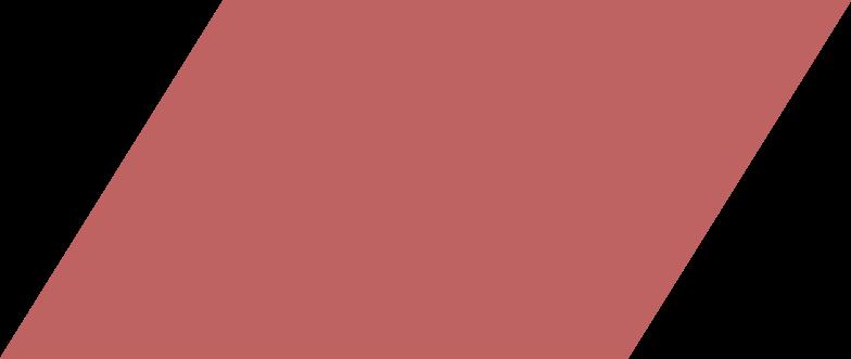 parallelogram burgundy Clipart illustration in PNG, SVG
