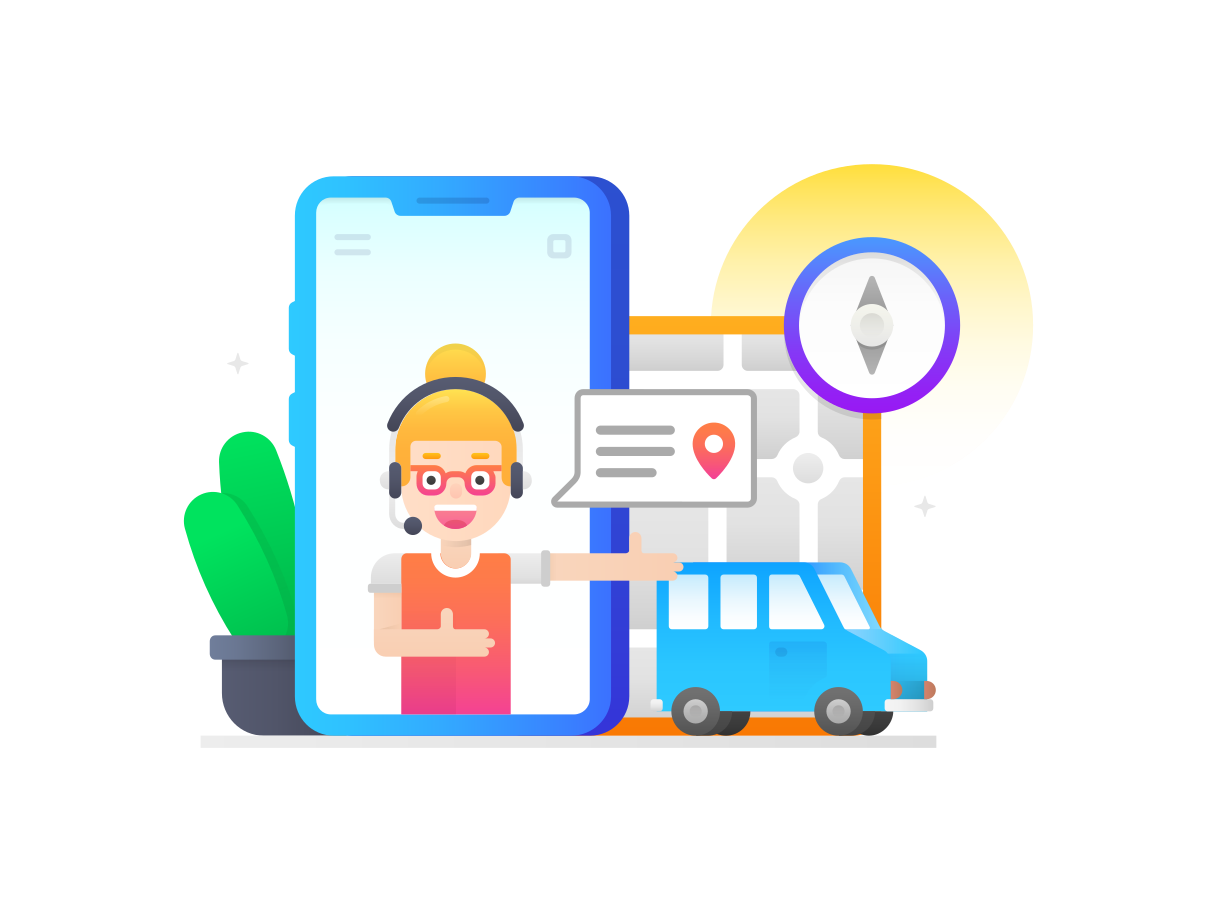 style Navigation support Vector images in PNG and SVG | Icons8 Illustrations
