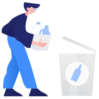 style Waste sorting- plastic images in PNG and SVG | Icons8 Illustrations