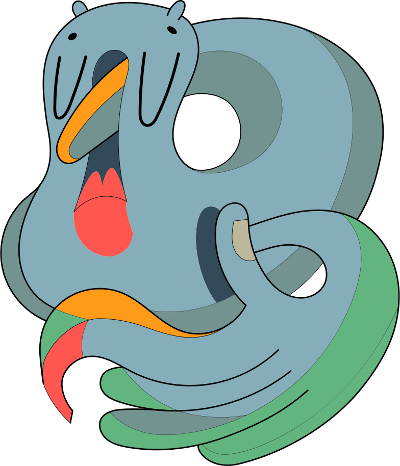 creature Clipart illustration in PNG, SVG