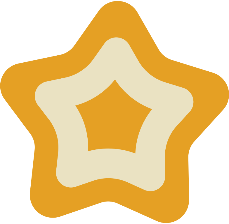cookie star Clipart illustration in PNG, SVG