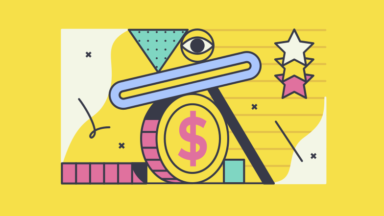 Finance stability Clipart illustration in PNG, SVG