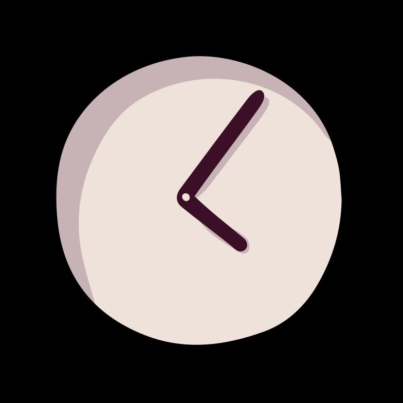 uhr Clipart-Grafik als PNG, SVG