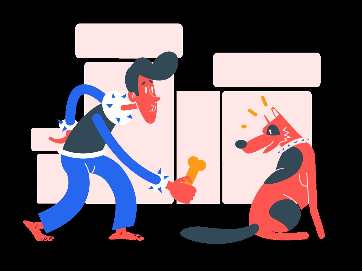 飼い犬 のPNG、SVGクリップアートイラスト