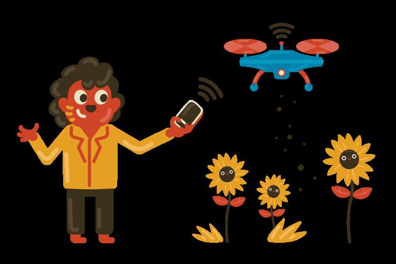 Smart fertilizer Clipart illustration in PNG, SVG