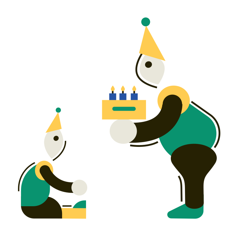 Birthday Clipart illustration in PNG, SVG