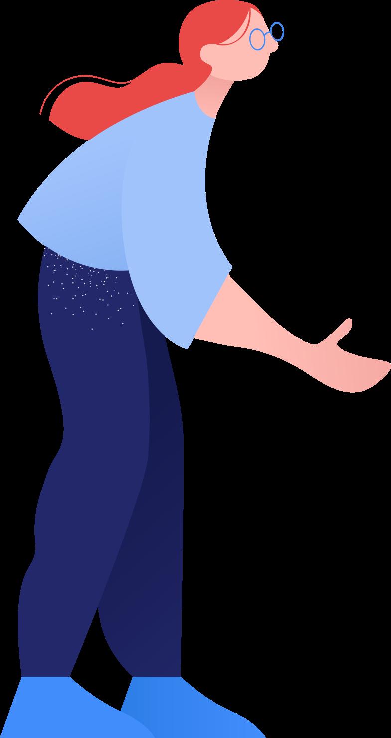 Immagine Vettoriale donna in PNG e SVG in stile  | Illustrazioni Icons8
