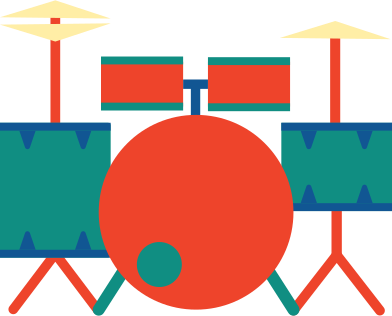 style drum set images in PNG and SVG   Icons8 Illustrations