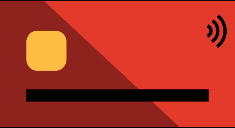 credit card Clipart illustration in PNG, SVG