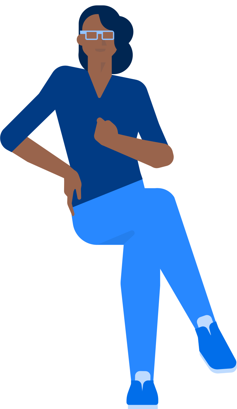 woman sitting frontview Clipart illustration in PNG, SVG