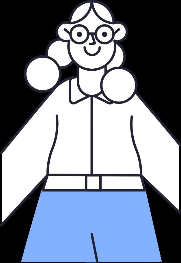 Ilustración de clipart de Foto de mujer en PNG, SVG