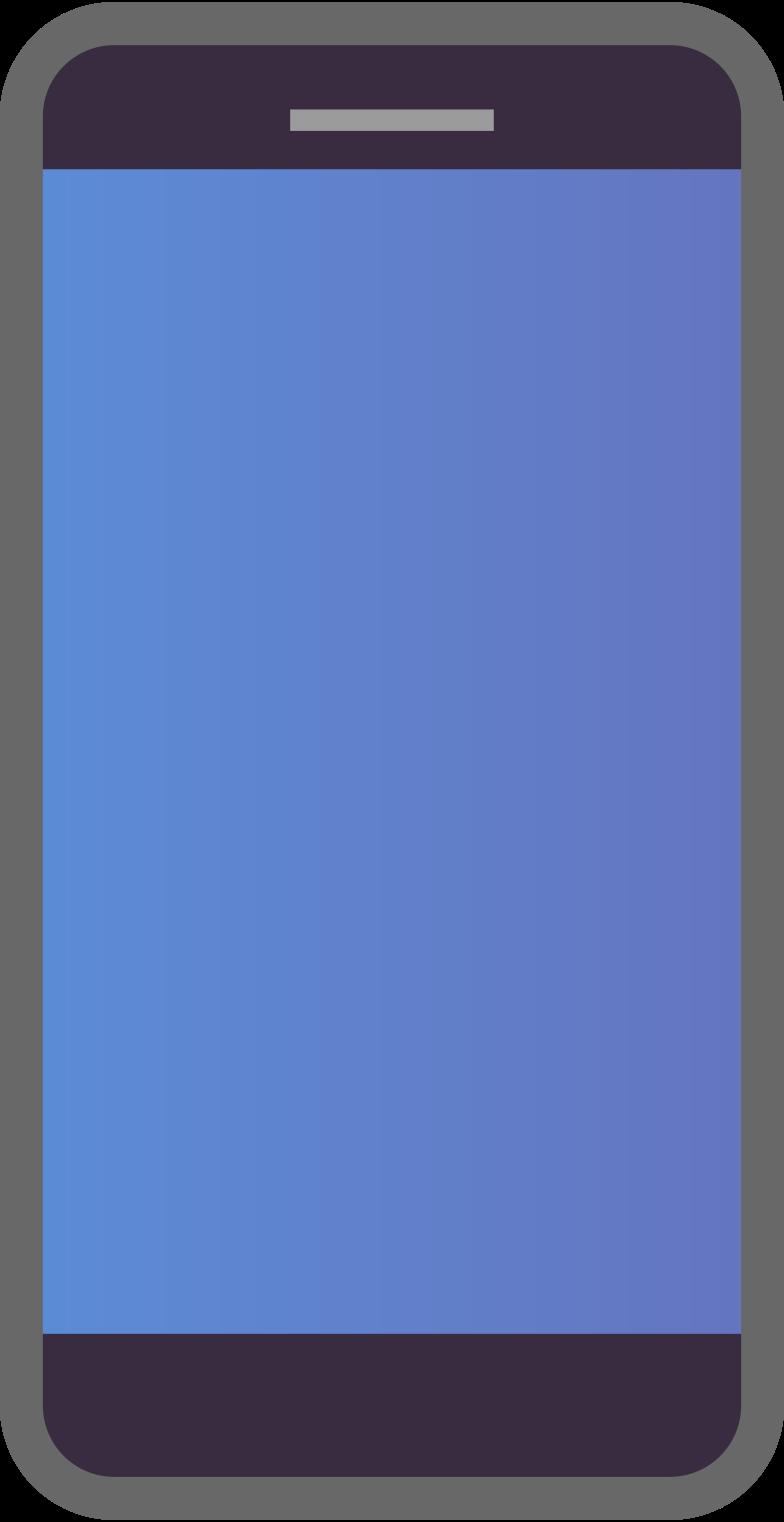 mobile-phone Clipart illustration in PNG, SVG