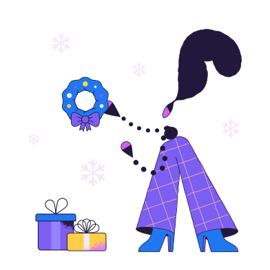 style Decorating home for Christmas  images in PNG and SVG | Icons8 Illustrations