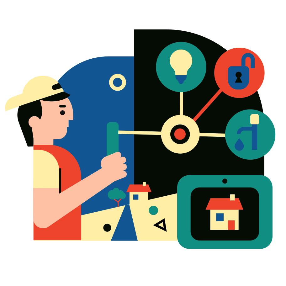 style Smart Home images in PNG and SVG | Icons8 Illustrations