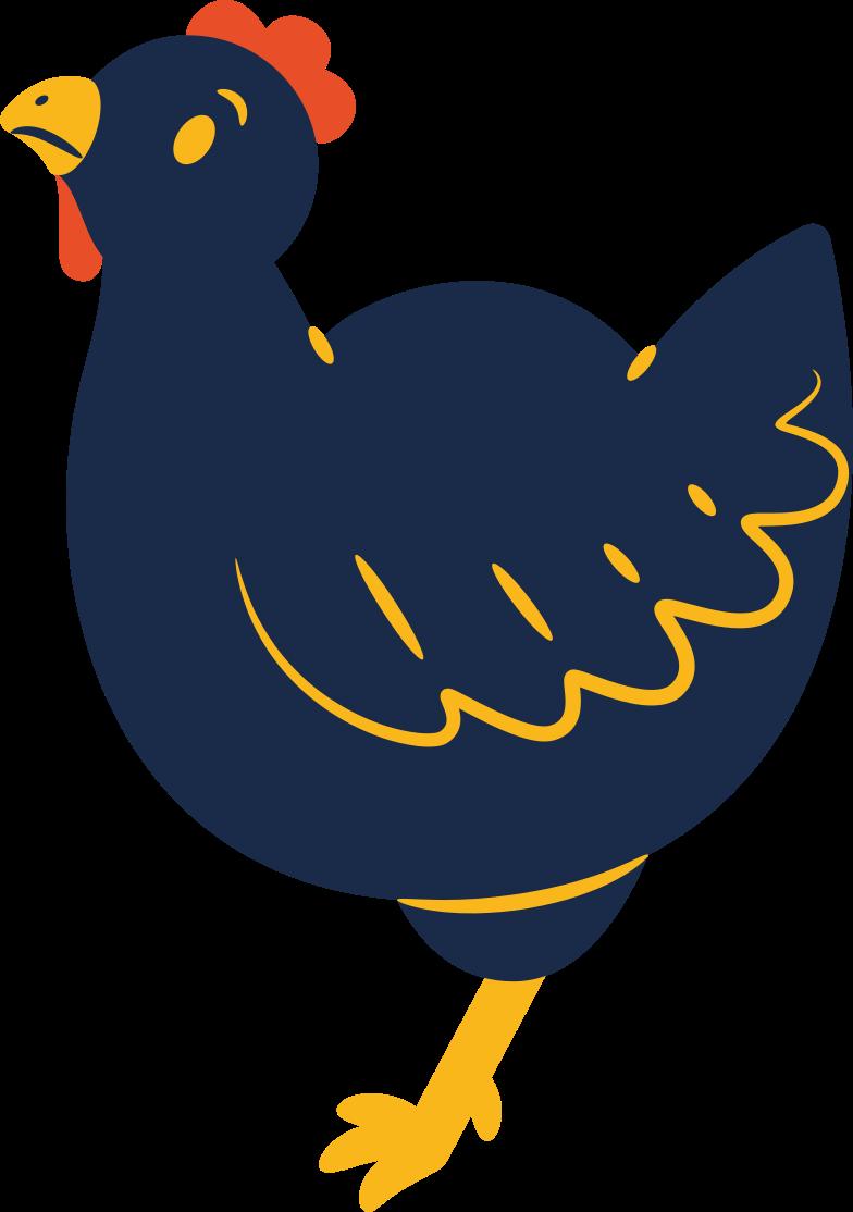 hen Clipart illustration in PNG, SVG