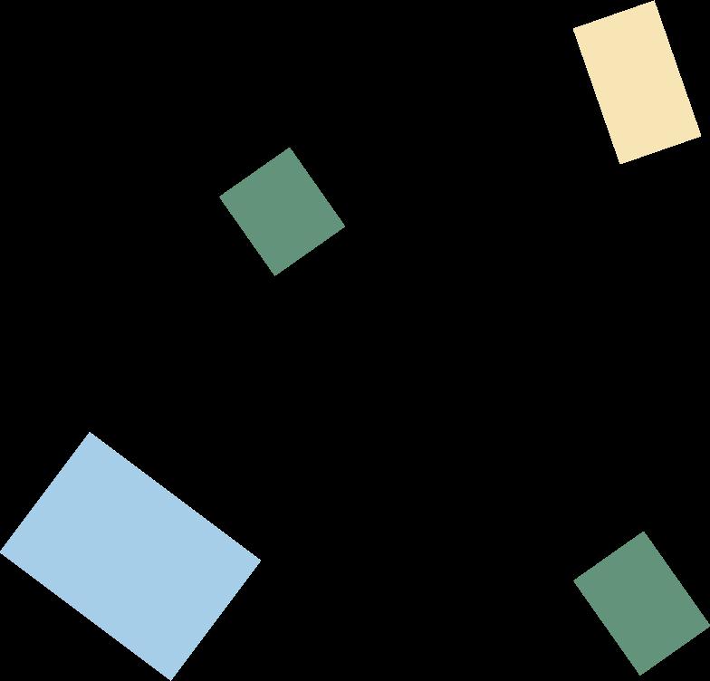Ilustración de clipart de confetti en PNG, SVG