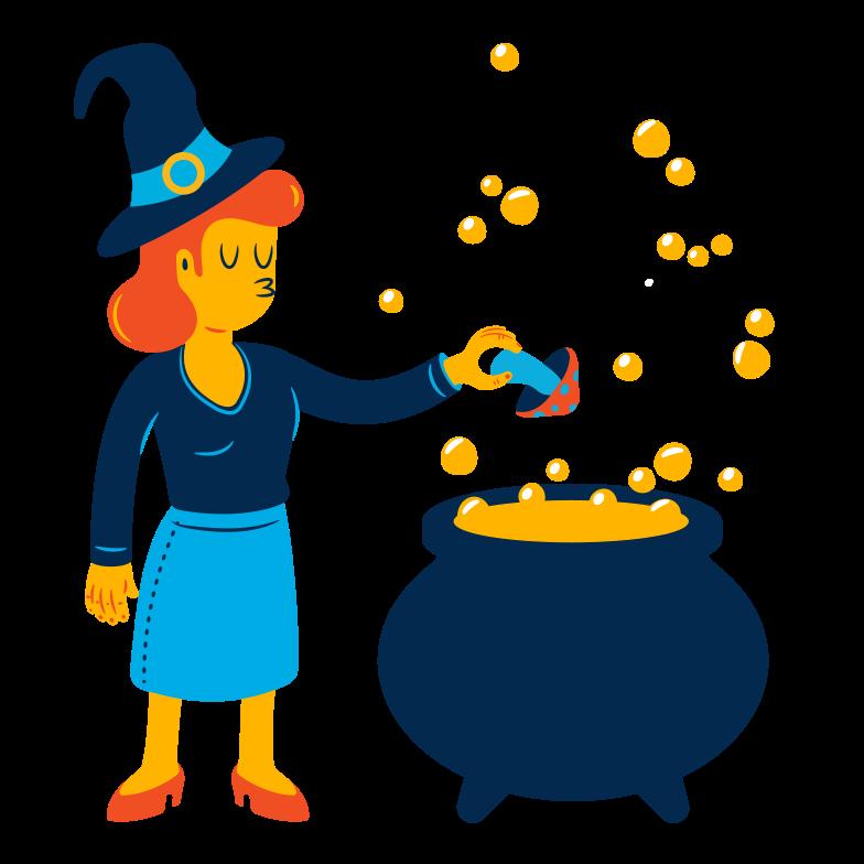 Иллюстрация Зелье ведьмы в стиле  в PNG и SVG | Icons8 Иллюстрации