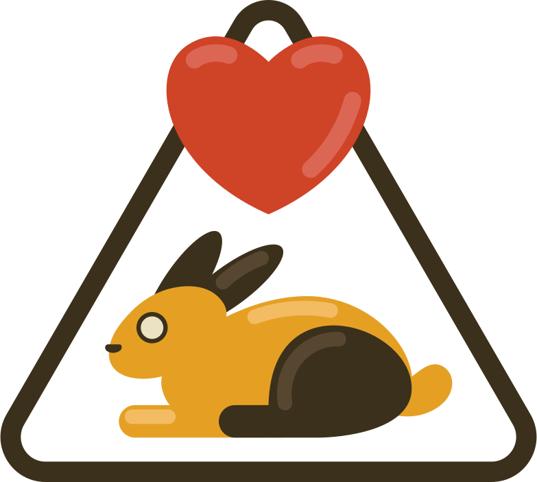 cruelty free Clipart illustration in PNG, SVG