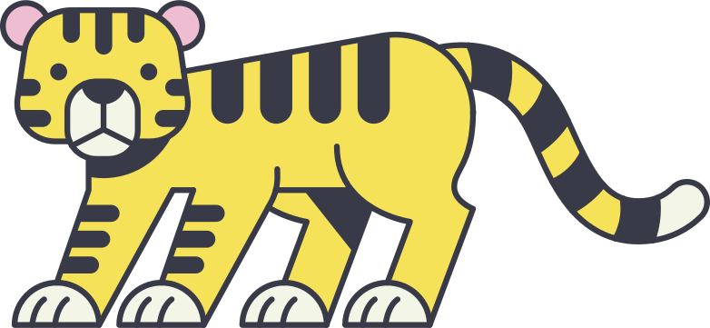 Tigre Clipart illustration in PNG, SVG