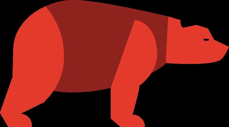 bear Clipart illustration in PNG, SVG