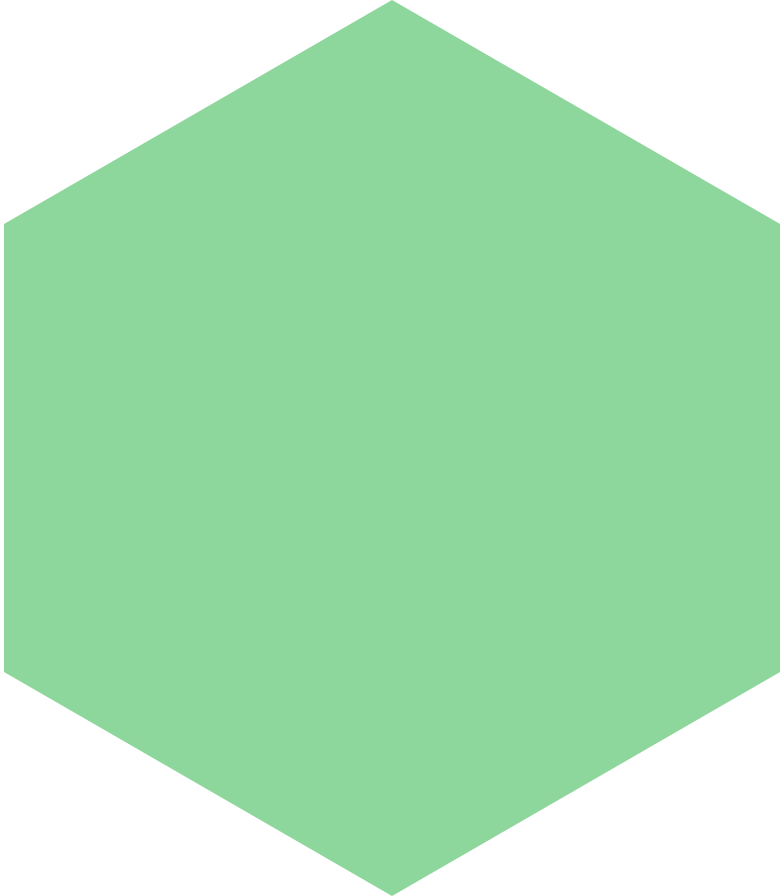 hexagon-green Clipart illustration in PNG, SVG