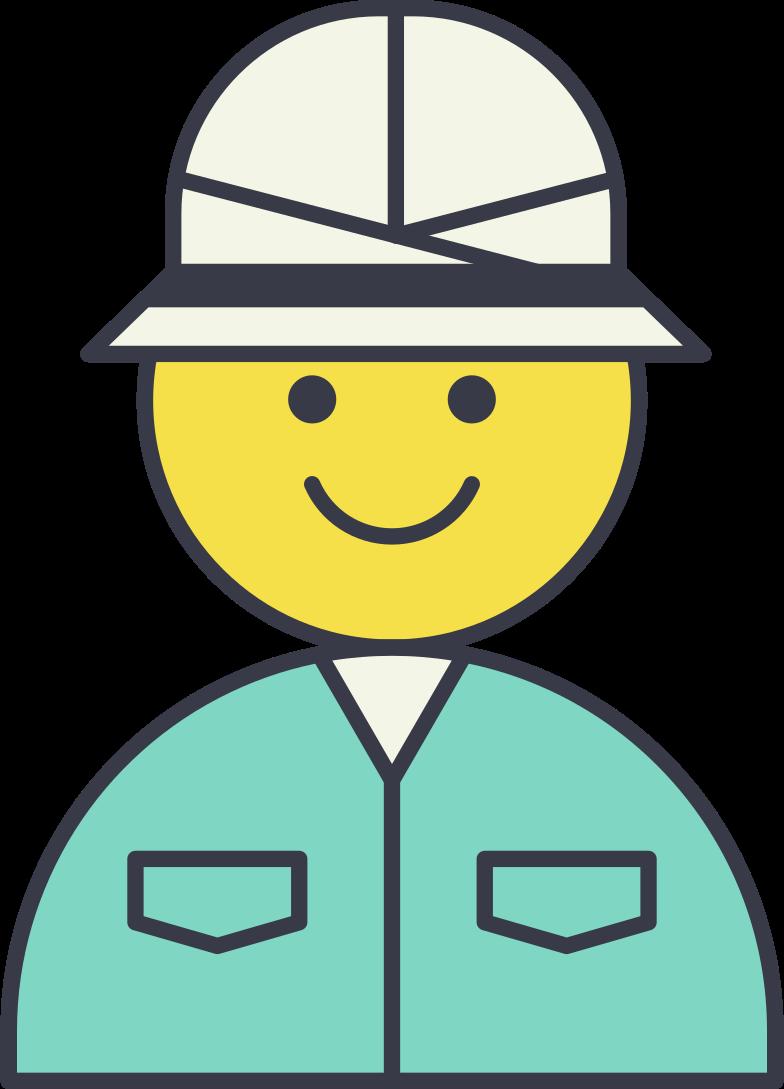 foreman Clipart illustration in PNG, SVG