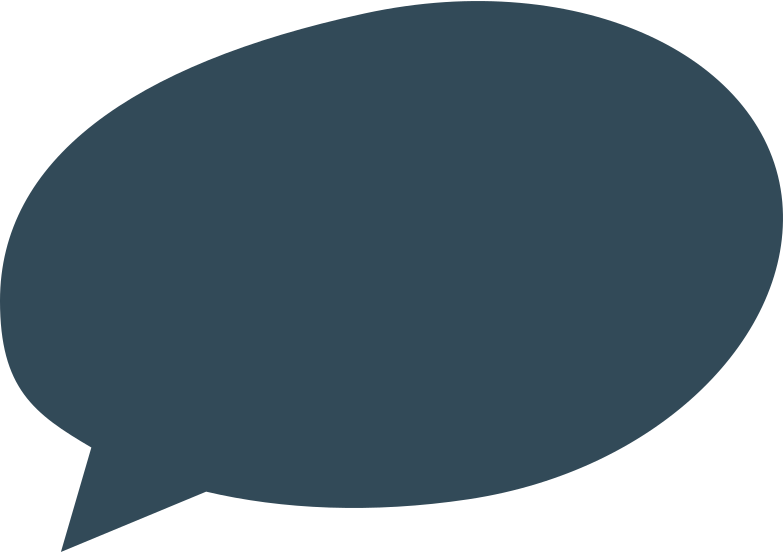 Ilustração de clipart de speach bubble 2 dark blue em PNG e SVG