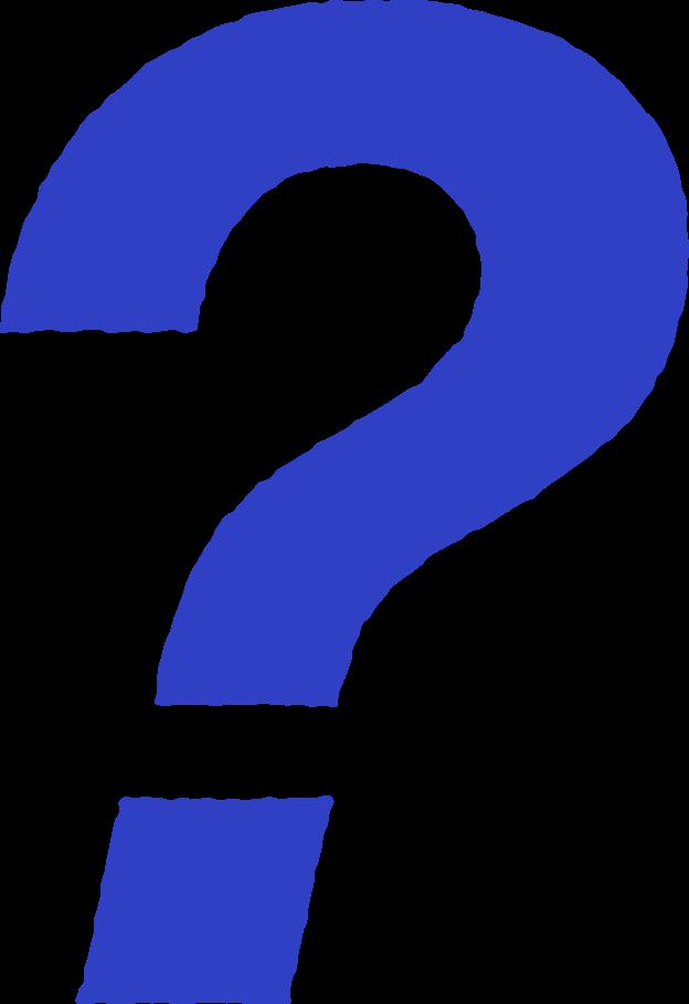 Fragezeichen Clipart-Grafik als PNG, SVG