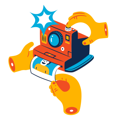 style Photographing images in PNG and SVG | Icons8 Illustrations