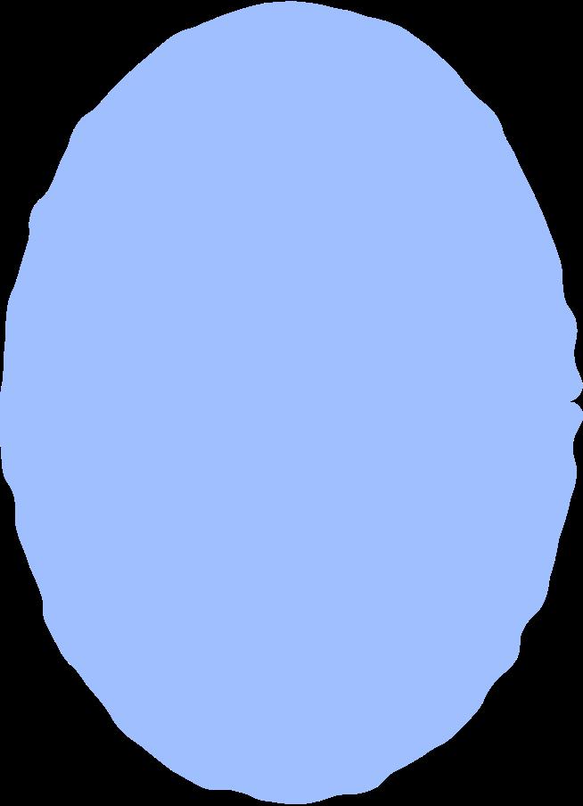 ellipse light blue Clipart illustration in PNG, SVG