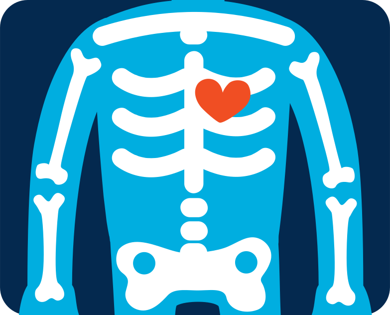 x-ray image Clipart illustration in PNG, SVG