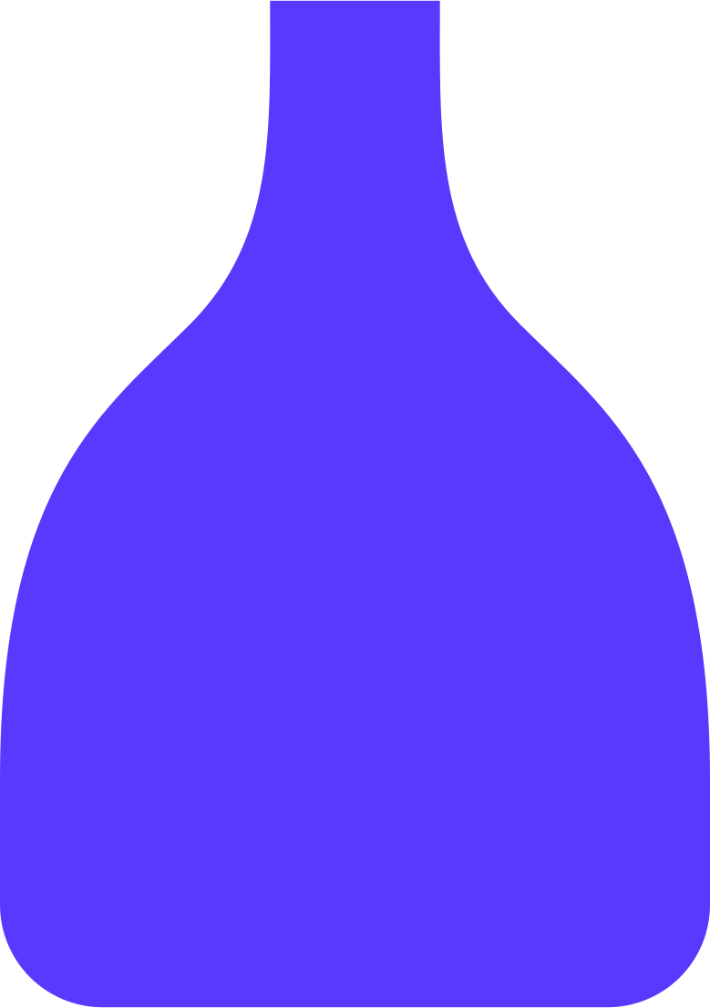 small vase Clipart illustration in PNG, SVG