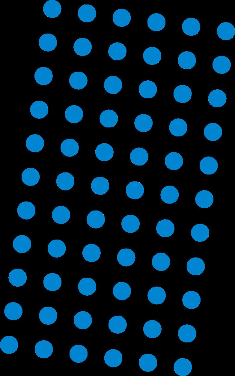 dots blue Clipart illustration in PNG, SVG