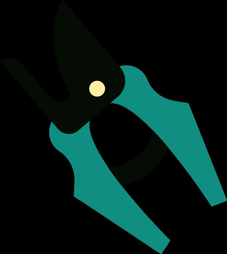 secateurs Clipart illustration in PNG, SVG