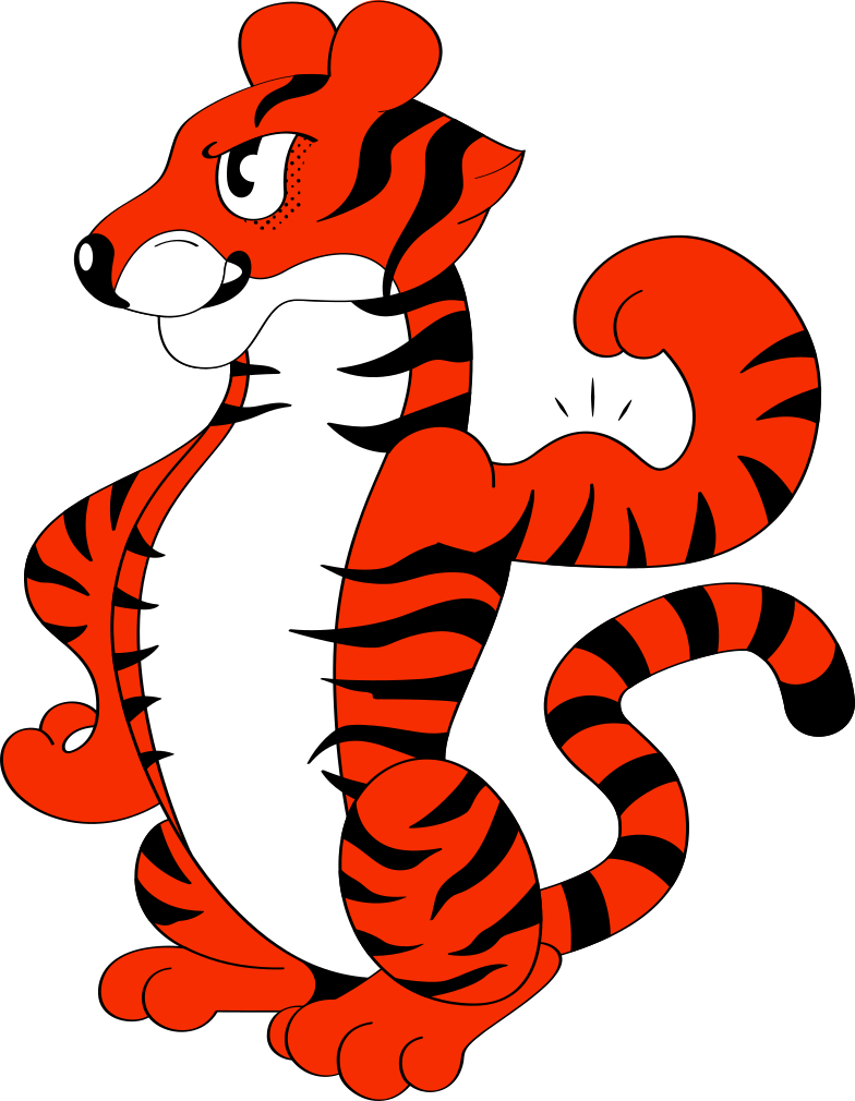 style strong tiger Vector images in PNG and SVG | Icons8 Illustrations