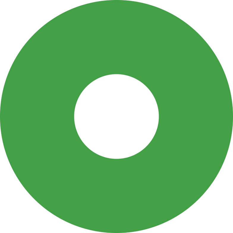 ring green Clipart illustration in PNG, SVG