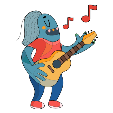 style Music artist images in PNG and SVG | Icons8 Illustrations