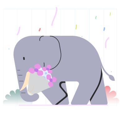 Elephant Clipart Illustrations & Images in PNG and SVG