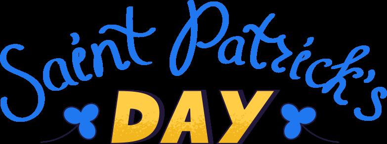 saint patrick day Clipart-Grafik als PNG, SVG