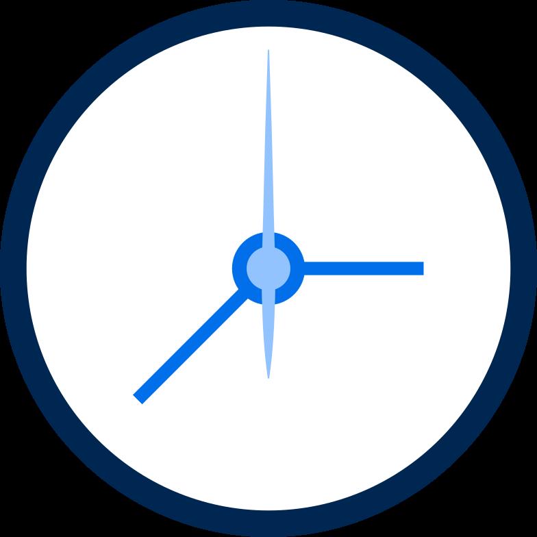 clock Clipart illustration in PNG, SVG