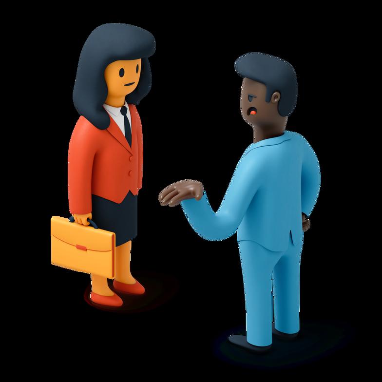 Illustration clipart Hommes d'affaires aux formats PNG, SVG